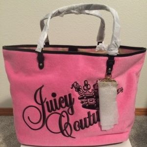 Juicy Couture Pink Tote
